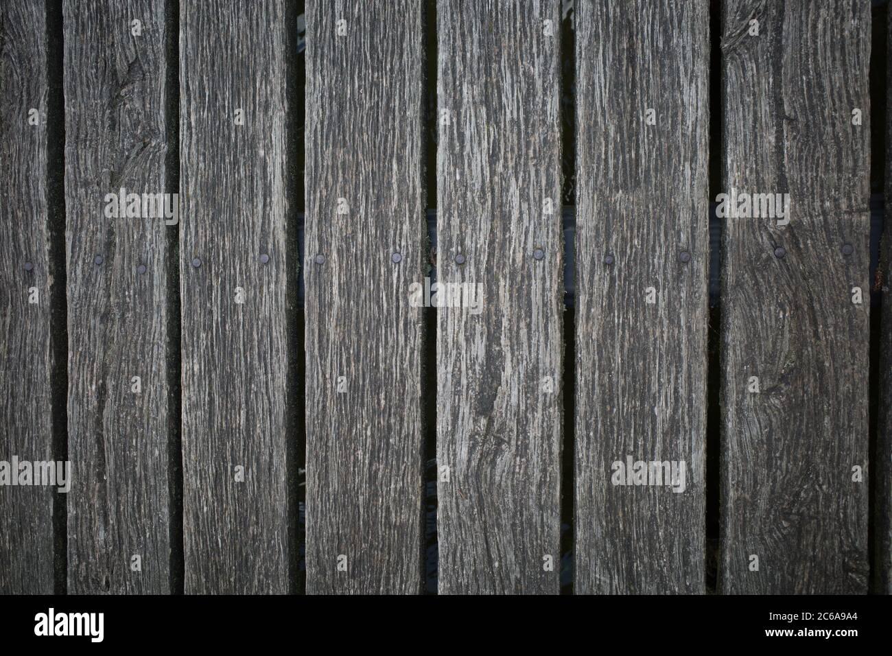 Le Tavole Di Una Barra Di Legno Formano Un Disegno Omogeneo Foto Stock Alamy