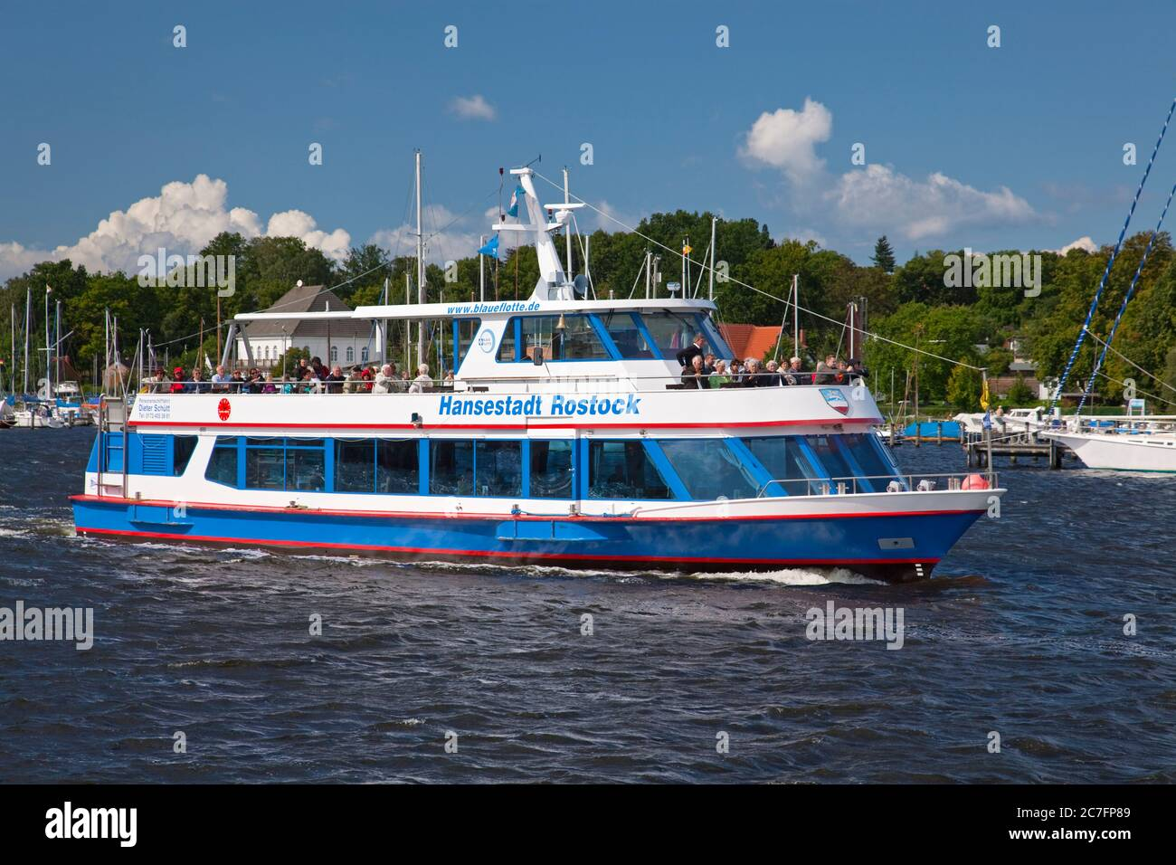 Germania, Meclemburgo-Pomerania occidentale, Mar Baltico, costa del Mar Baltico, città anseatica. Foto Stock