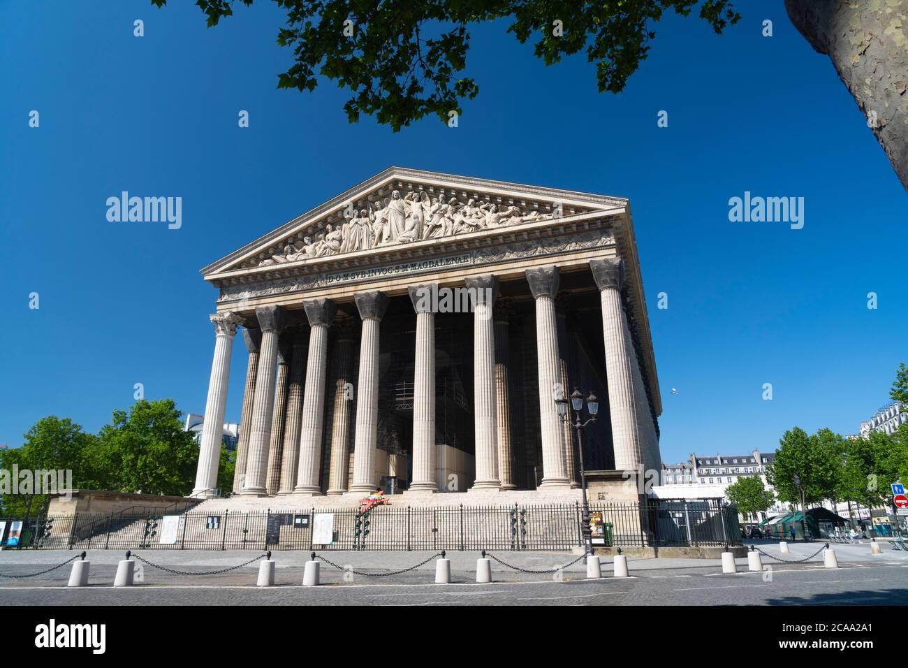 Chiesa della Madeleine. Parigi, Francia Foto Stock