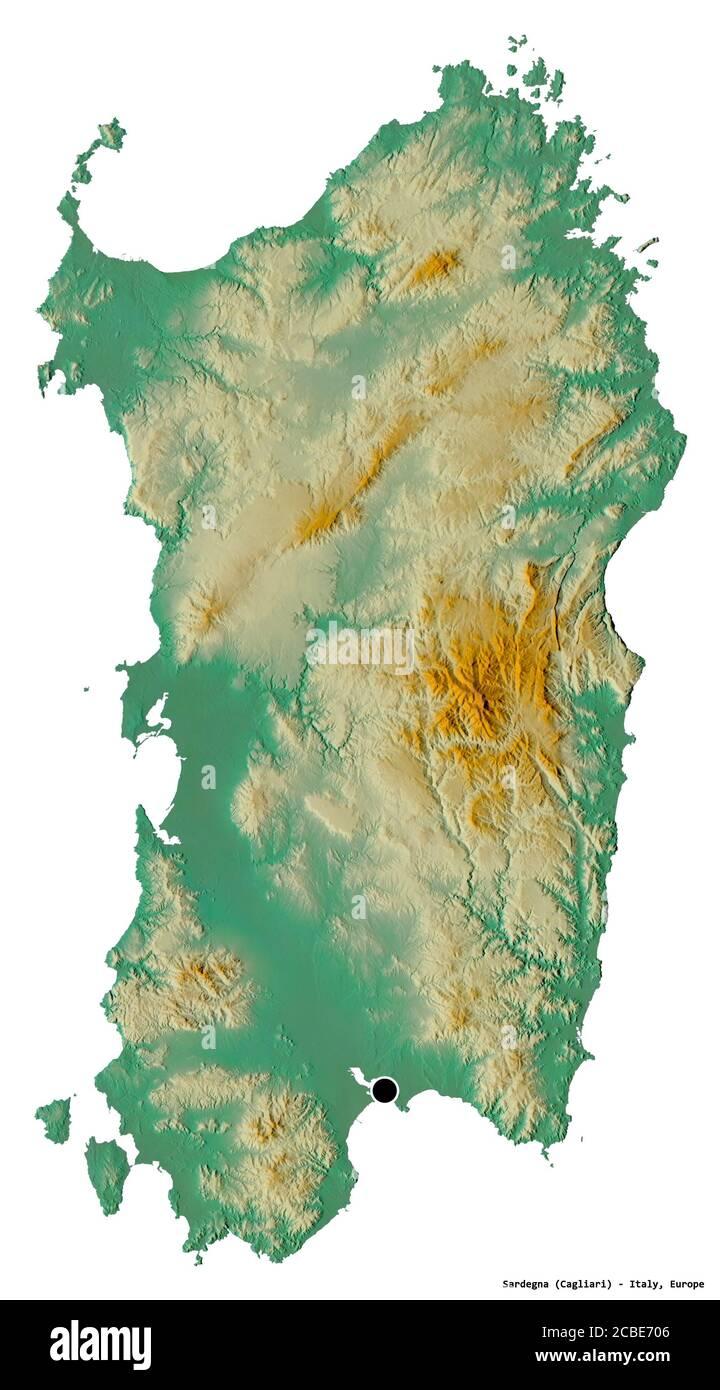 Cartina Sardegna Del Sud