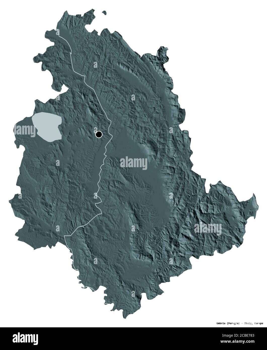 Cartina Politica Dell Umbria.Umbria Region Map Immagini E Fotos Stock Alamy