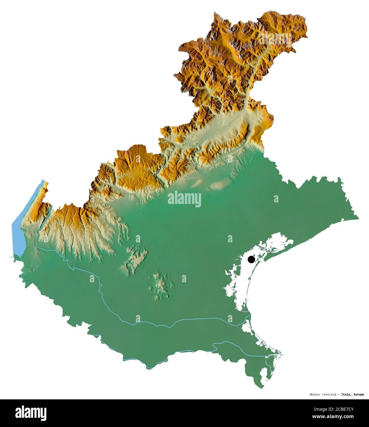 Cartina Dell Italia Veneto.Veneto Region Map Immagini E Fotos Stock Alamy