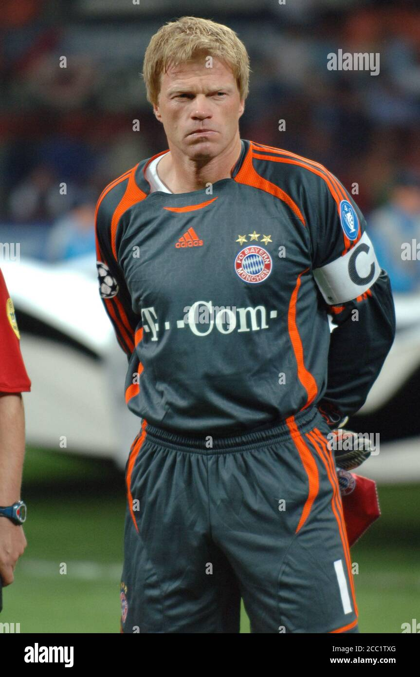 Oliver KAHN portiere FC Bayern Muenchen Foto stock - Alamy