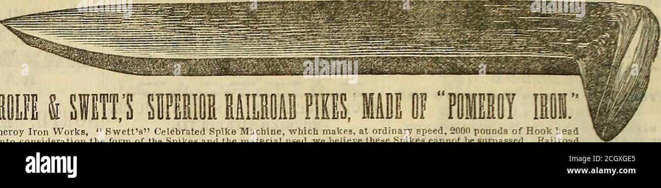 . Record ferroviario, e giornale di commercio, bancario, manifatturiero e statistica . XPRESS Trainon Lake Shore Road. Questo treno collega anche a Forest con il treno per Chicago ai li;:30 A. M., essendo l'Oaaly i^iglit Traasi owt di CincinU questo treno coiinecla anche a Hamilton Witti treno per Richmond e :ILL punti intermedi. ONK TRAIN IL SUNDAY.Leaves Dayton at 7.15 A. M., e Cincinnati at 3.30 PM. PARCHEGGIARE IN TUTTI I PUNTI COME DA ANVOTHIIR ROUTK.OS-BAGGAGU CONTROLLATO ATTRAVERSO. RITORNO a TRAINSLeave Dayton alle 5 e 8:0.1 A. M. e alle 1-30 e alle 5:3P. M. lasciare Hamilton alle 6:30 e alle 9:37 A. ivi., e 12: Foto Stock