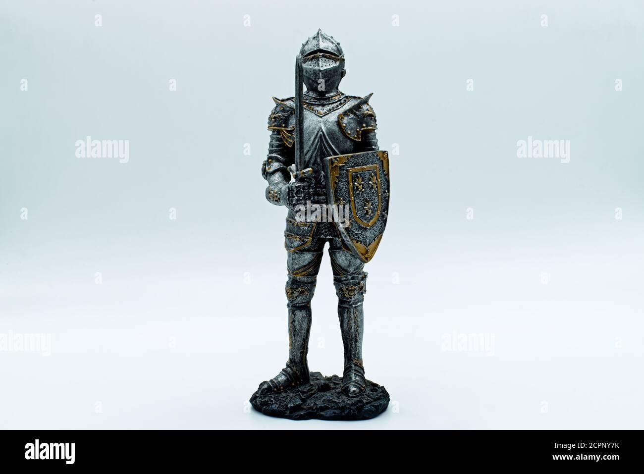 CAVALIERE Medievali Armatura Casco Set SPADA SCUDO Costume SOLDATINO Drago