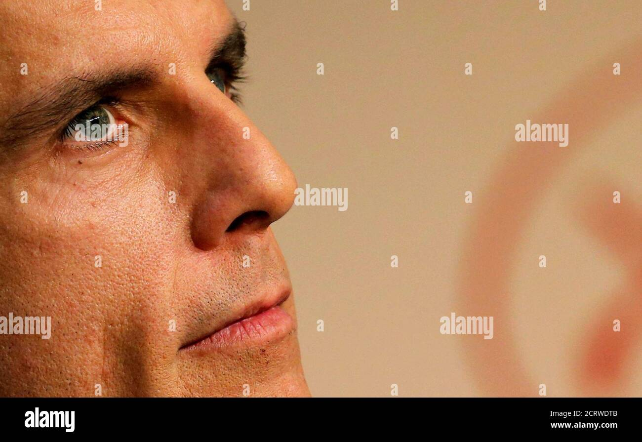 "70th Cannes Film Festival - News conference for the film ""The Meyerowitz Stories"" (New and Selected)  in competition - Cannes, France. 21/05/2017.  Cast member Ben Stiller attends.  REUTERS/Regis Duvignau Foto Stock"