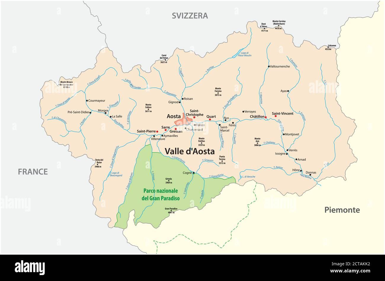 Cartina Muta Della Valle D Aosta.Italy Map Outline Vector Immagini E Fotos Stock Alamy