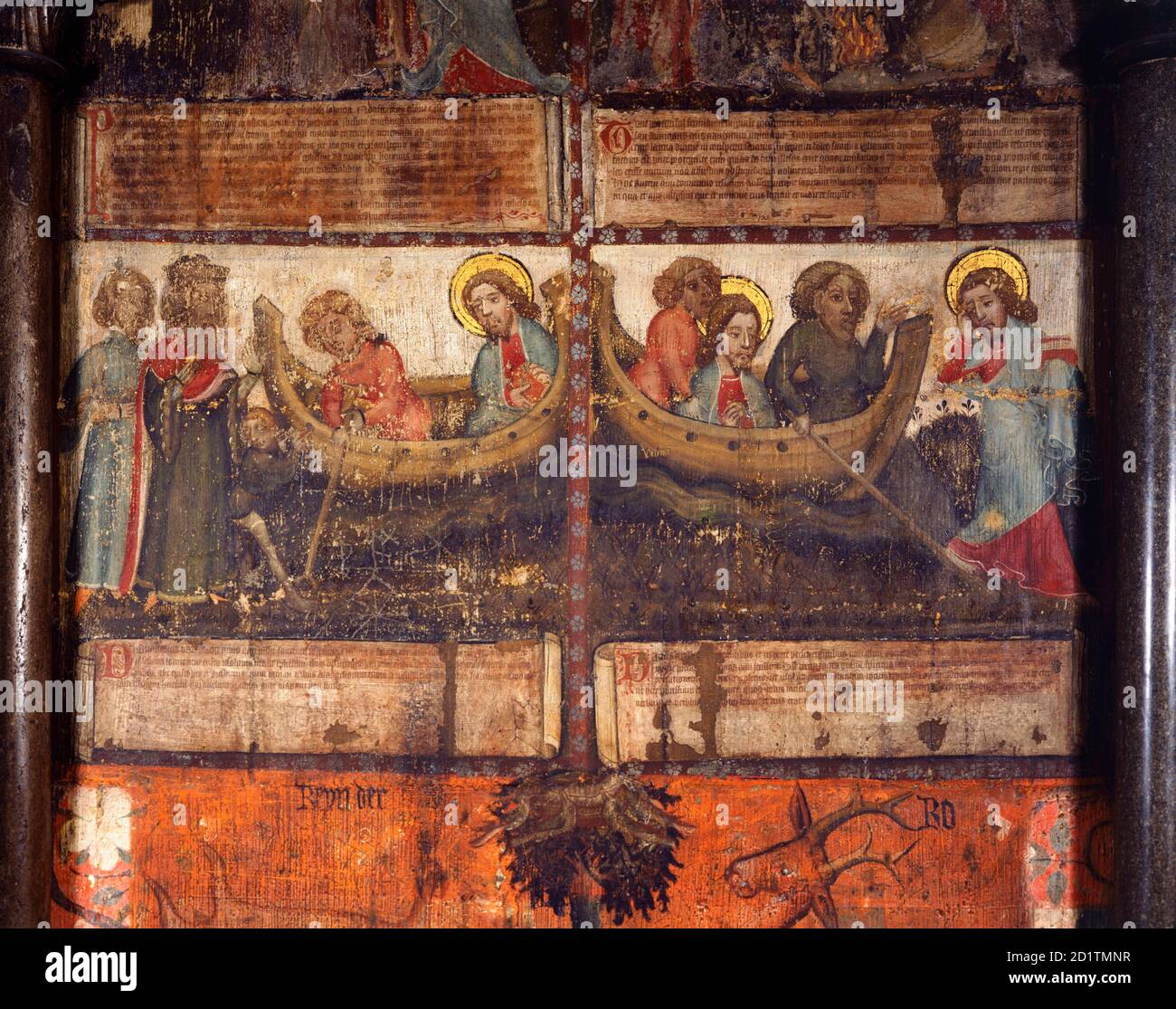 Pittura Murale Medievale Del Xiii Secolo Immagini E Fotos Stock Alamy