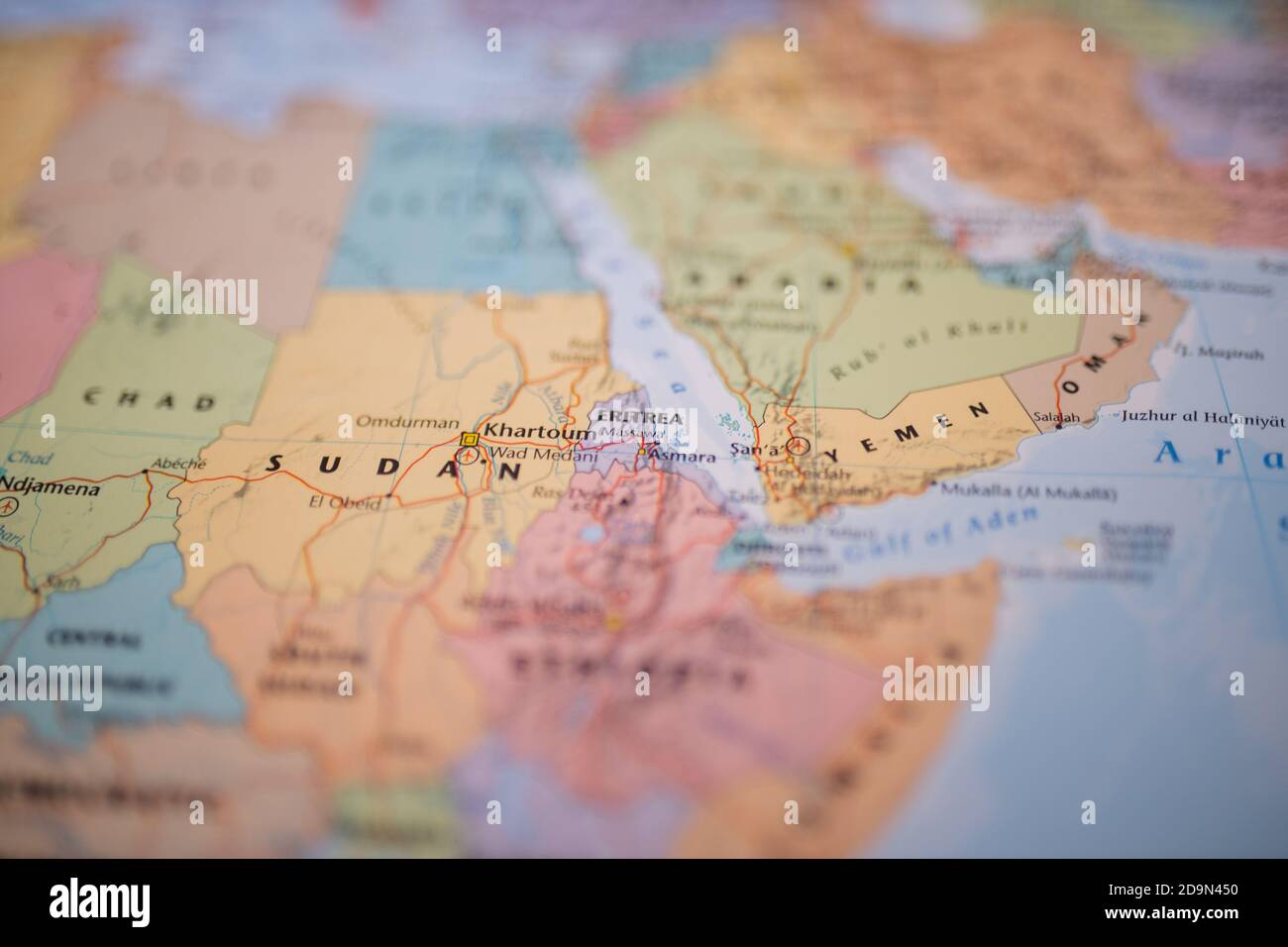 Cartina Eritrea.Map Africa Eritrea Immagini E Fotos Stock Alamy