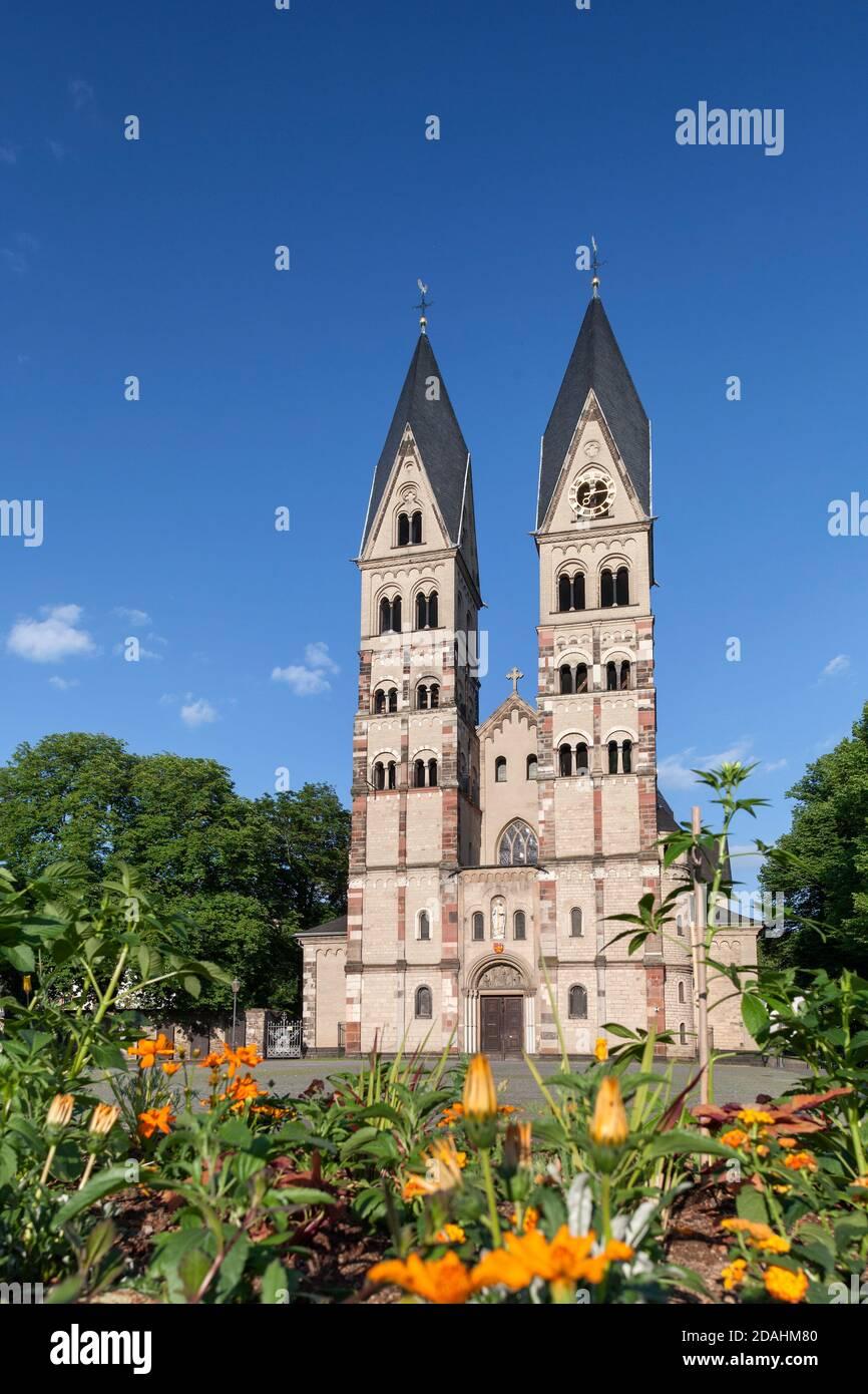 Geografia/viaggio, Germania, Renania-Palatinato, Coblenza, Basilica di San Kastor nella città vecchia, Coblenza, diritti aggiuntivi-clearance-Info-non-disponibile Foto Stock