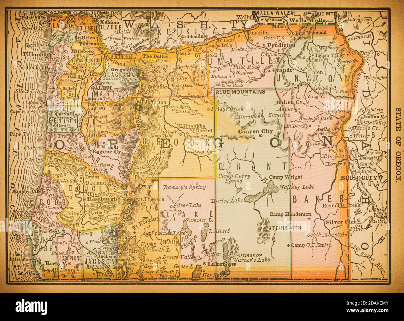 Cartina Fisica E Politica Degli Usa