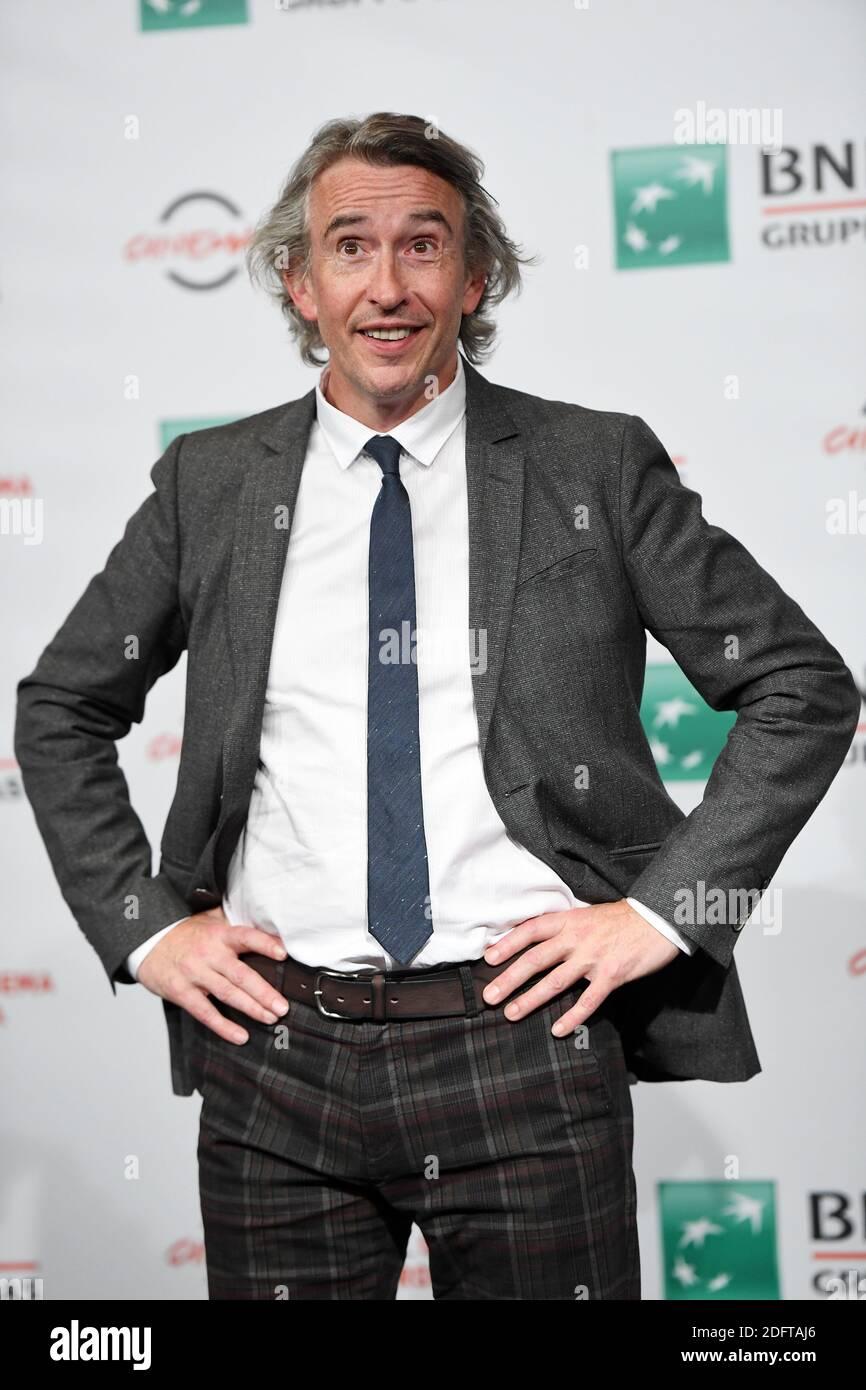 Steve Coogan partecipa alla fotocellula 'Stan & Ollie' durante il 13° Festival del Cinema di Roma all'Auditorium Parco della Musica il 24 ottobre 2018 a Roma. Foto: Eric Vandeville/ABACAPRESS.COM Foto Stock