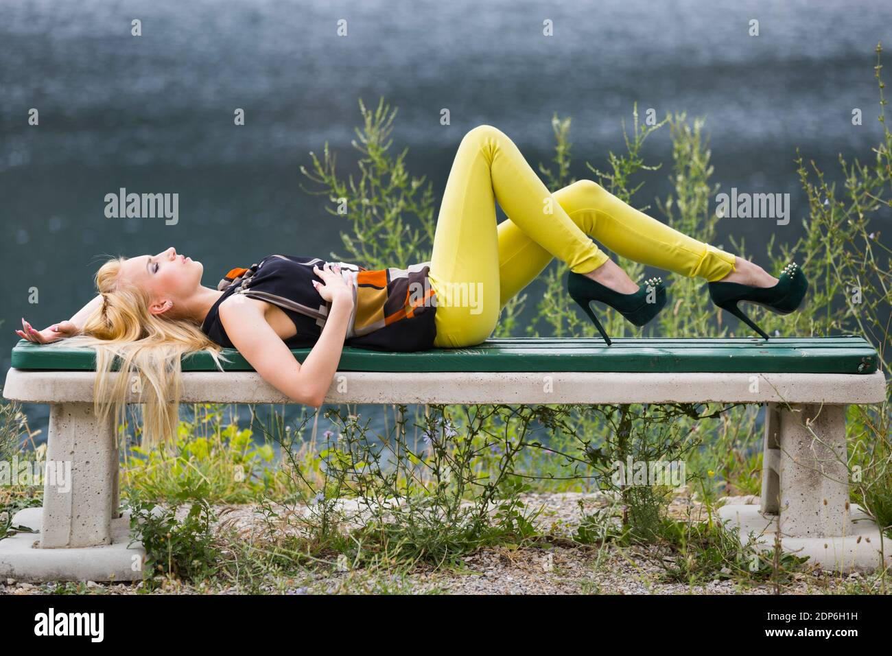 Adolescente aka sexy Foto Stock