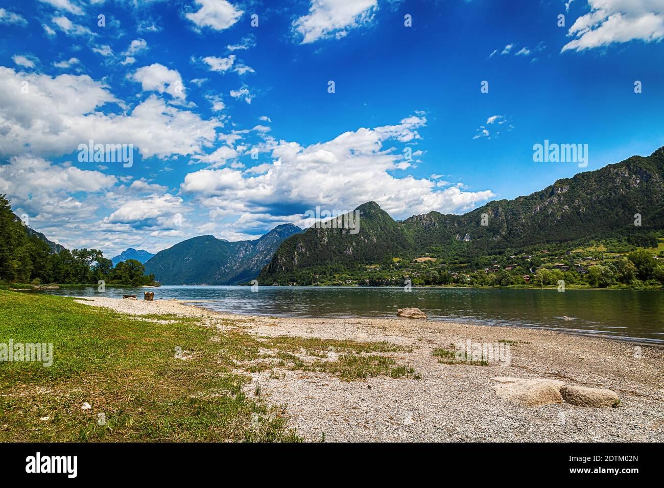 Paesaggio Del Lago Idro Immagini E Fotos Stock Alamy