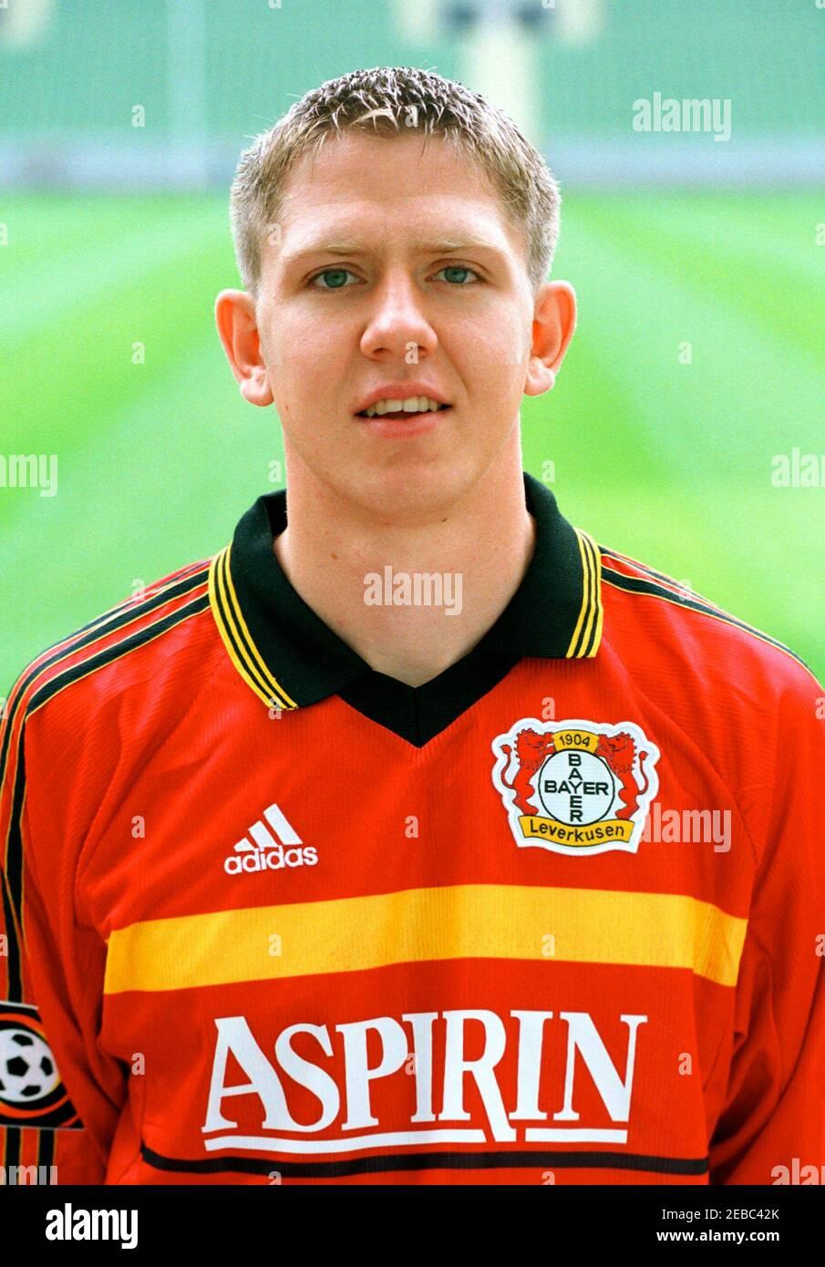 Leverkusen Germania 30.6.1999, Calcio: Presentazione della squadra ...