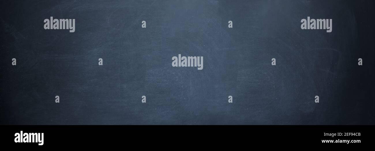 lavagna orizzontale e lavagna bianca con texture blu scuro e nera scheda Foto Stock