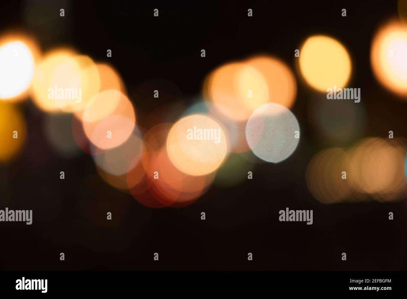 Luce accesa Foto Stock