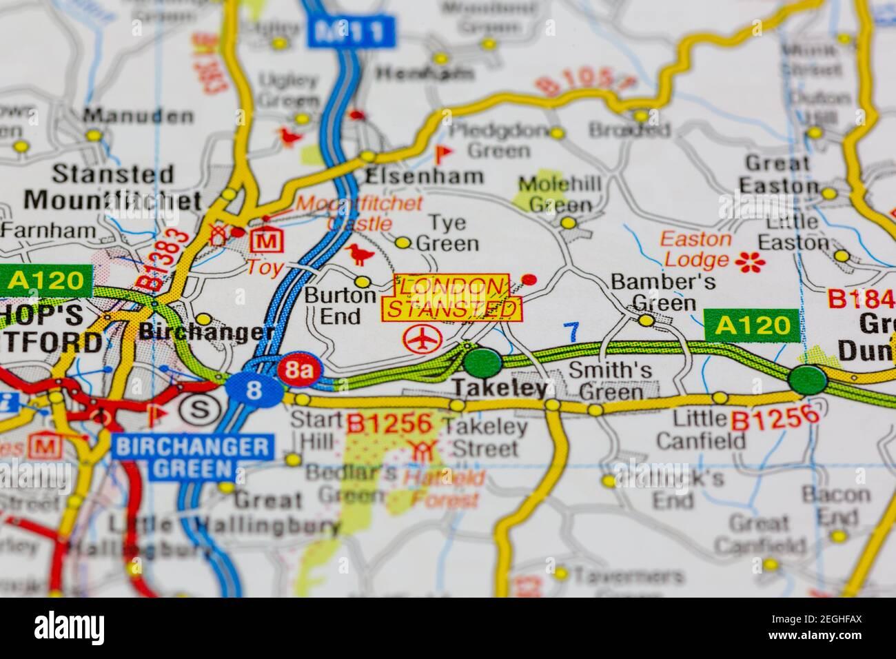 Cartina Aeroporti Londra.Mappa Stradale Di Londra Immagini E Fotos Stock Alamy