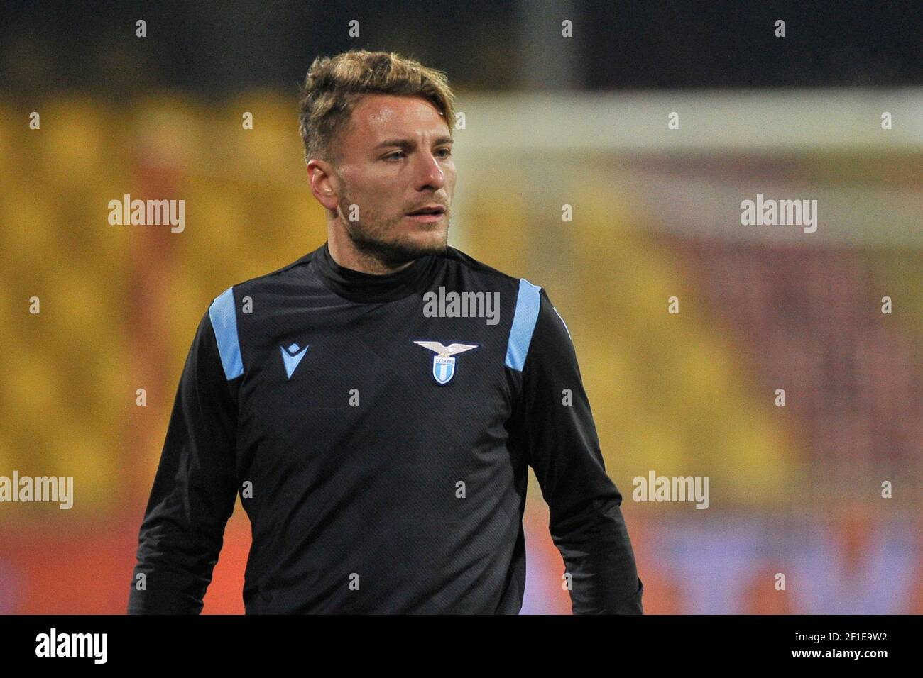 Ciro immobilista del Lazio, durante la partita della serie italiana UN campionato tra Benevento e Lazio, risultato finale 1-1, partita disputata al Foto Stock