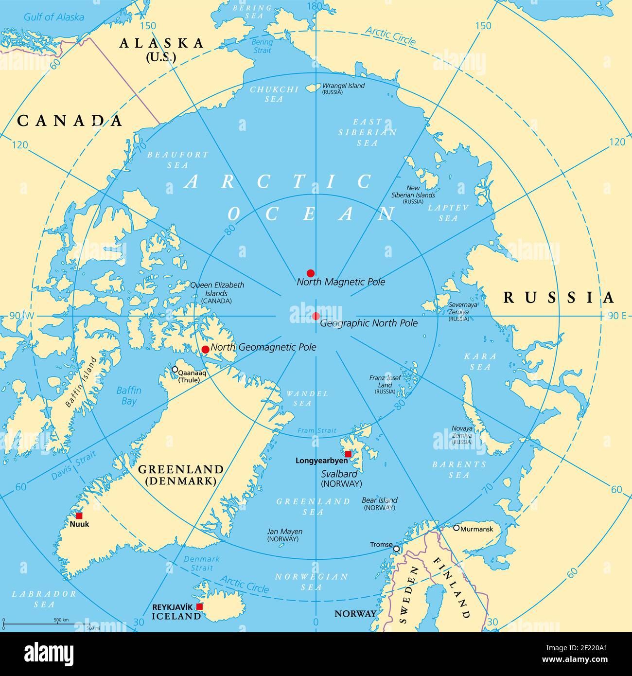 Cartina Mondo Hawaii.Mappa Del Mare Di Bering Immagini E Fotos Stock Alamy