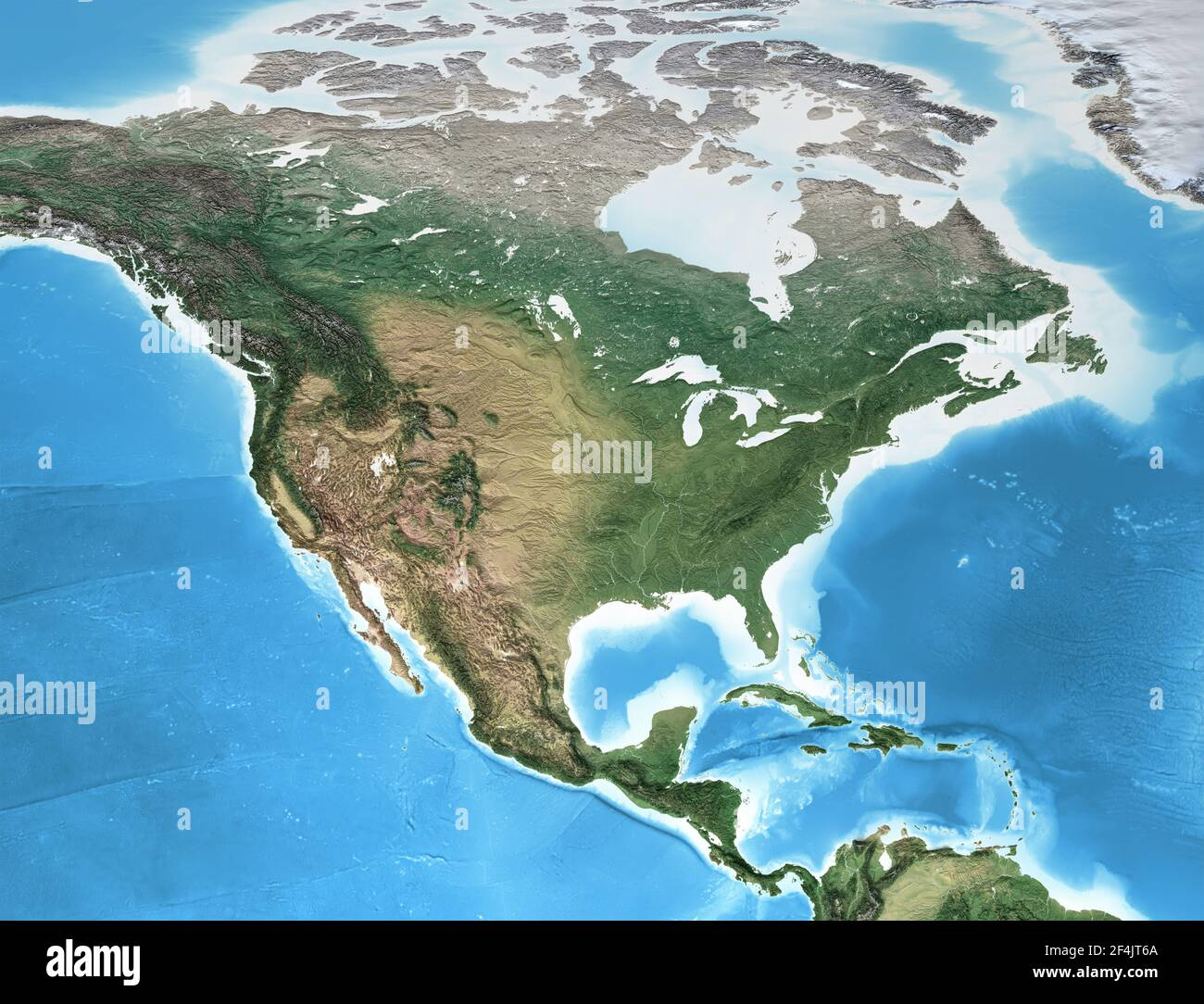 Cartina Fisica Del Nord America.Mappa Del Nord America Immagini E Fotos Stock Alamy