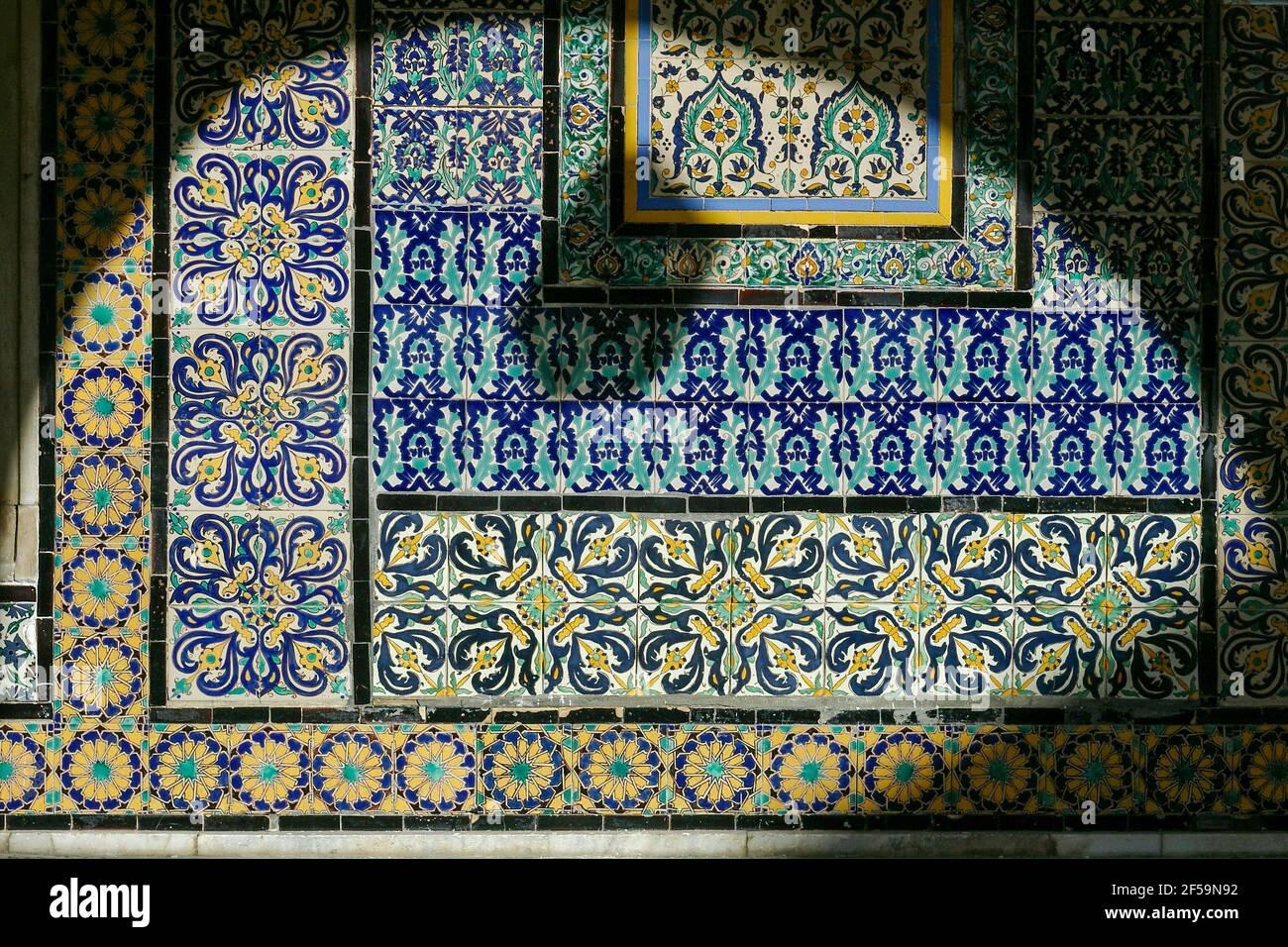 La moschea di Gurgi, Tripoli, Libia Foto Stock