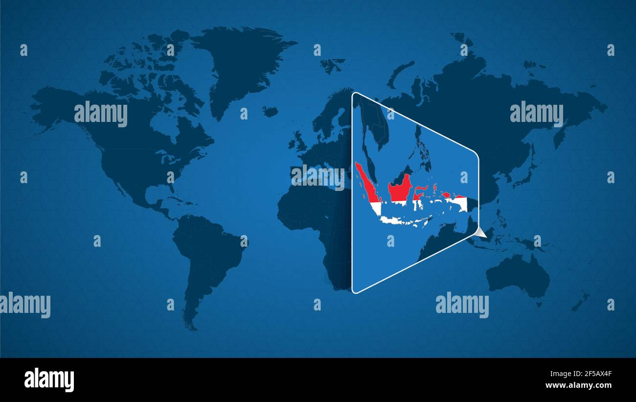 Cartina Indonesia Dettagliata.Jakarta Map Vector Immagini E Fotos Stock Alamy