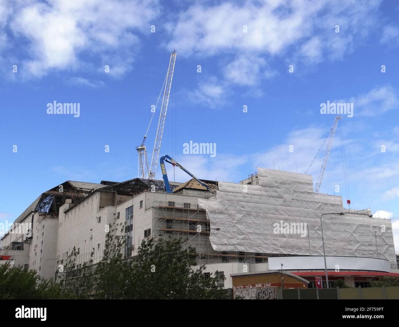 Demolire il centro espositivo Earl's Court TWO a Londra, Regno Unito Foto Stock