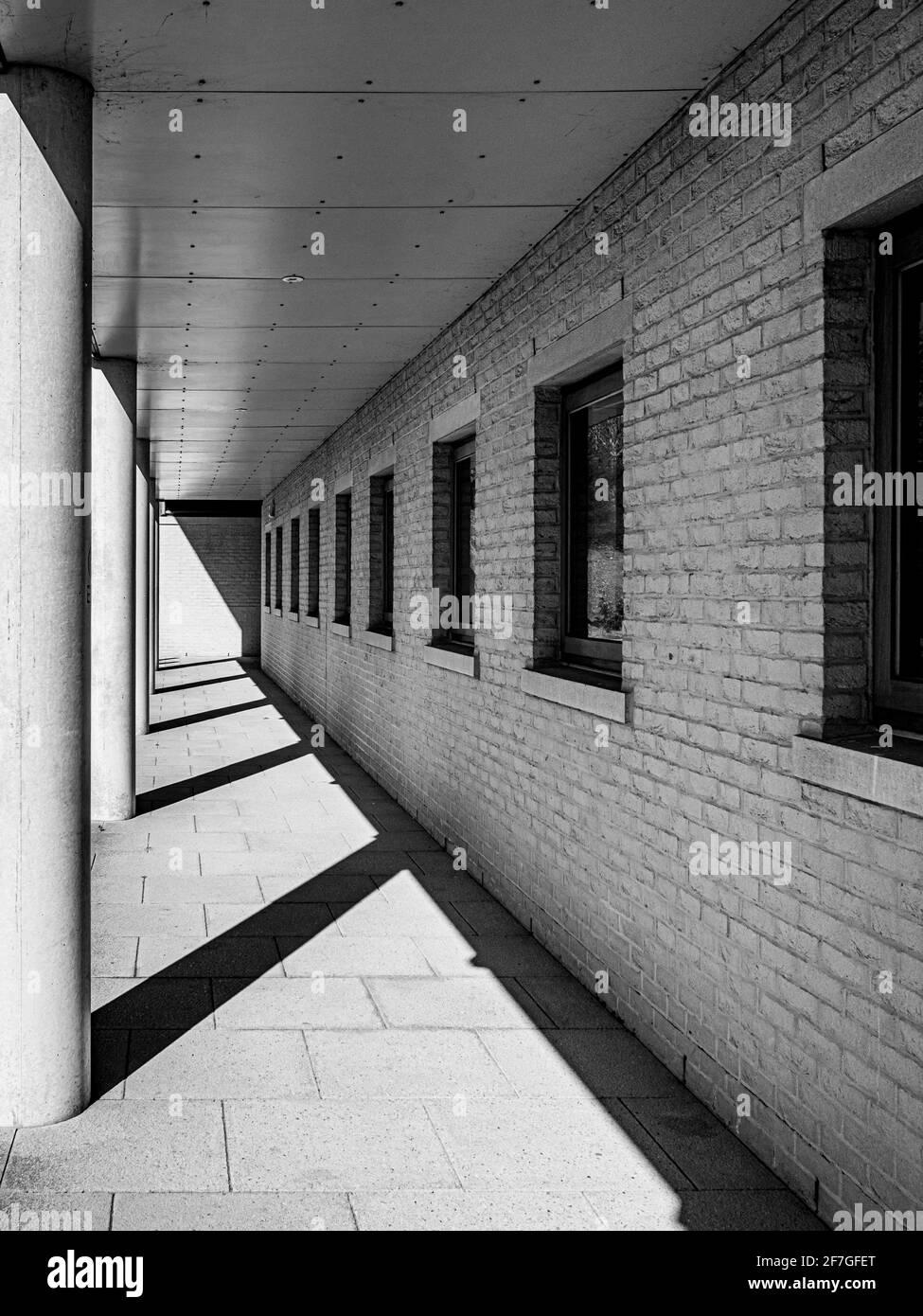 Esterno dell'edificio Harry Fairhurst presso la York University. Foto Stock