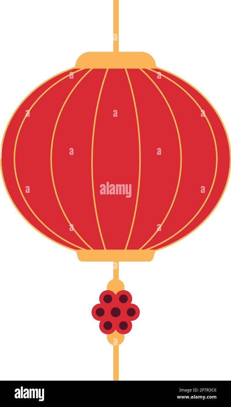 icona ornamento cinese Illustrazione Vettoriale
