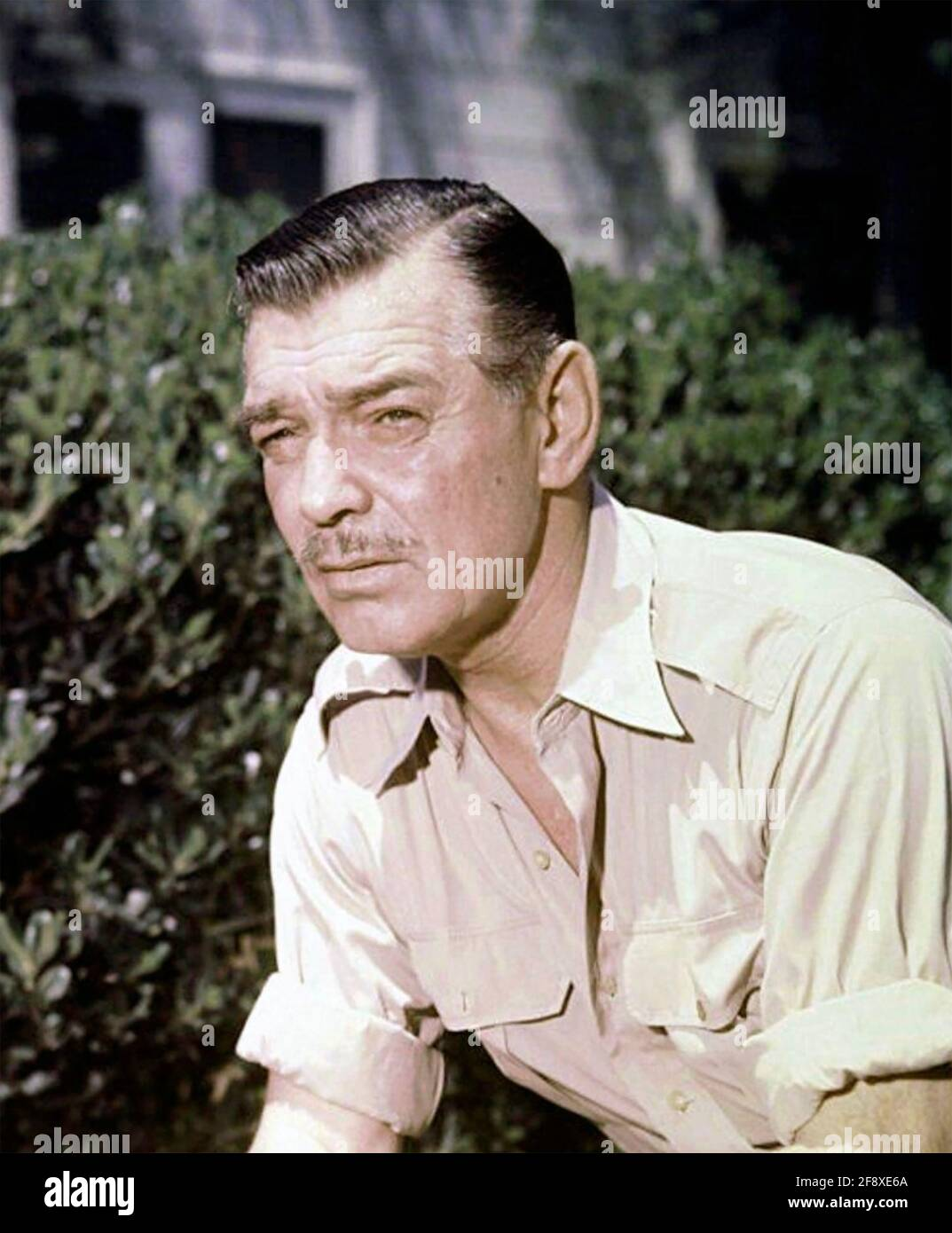 CLARK GABLE (1901-1960) attore di film americano in circa 1958 Foto Stock