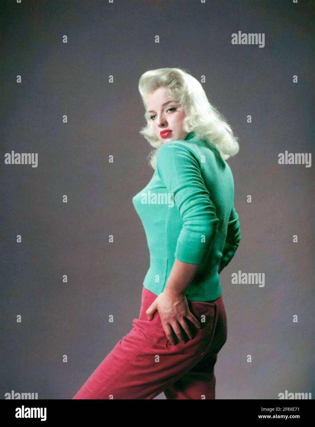 DIANA DORS (1931-1984) film inglese, attrice tv e cantante circa 1950 Foto Stock