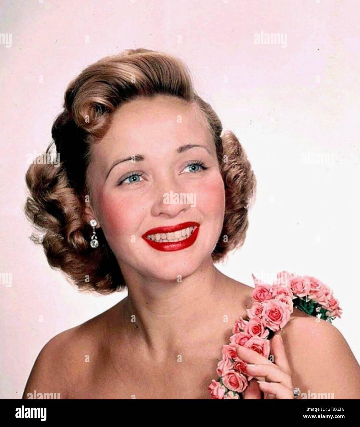 JANE POWELL attrice e ballerino americano circa 1948 Foto Stock