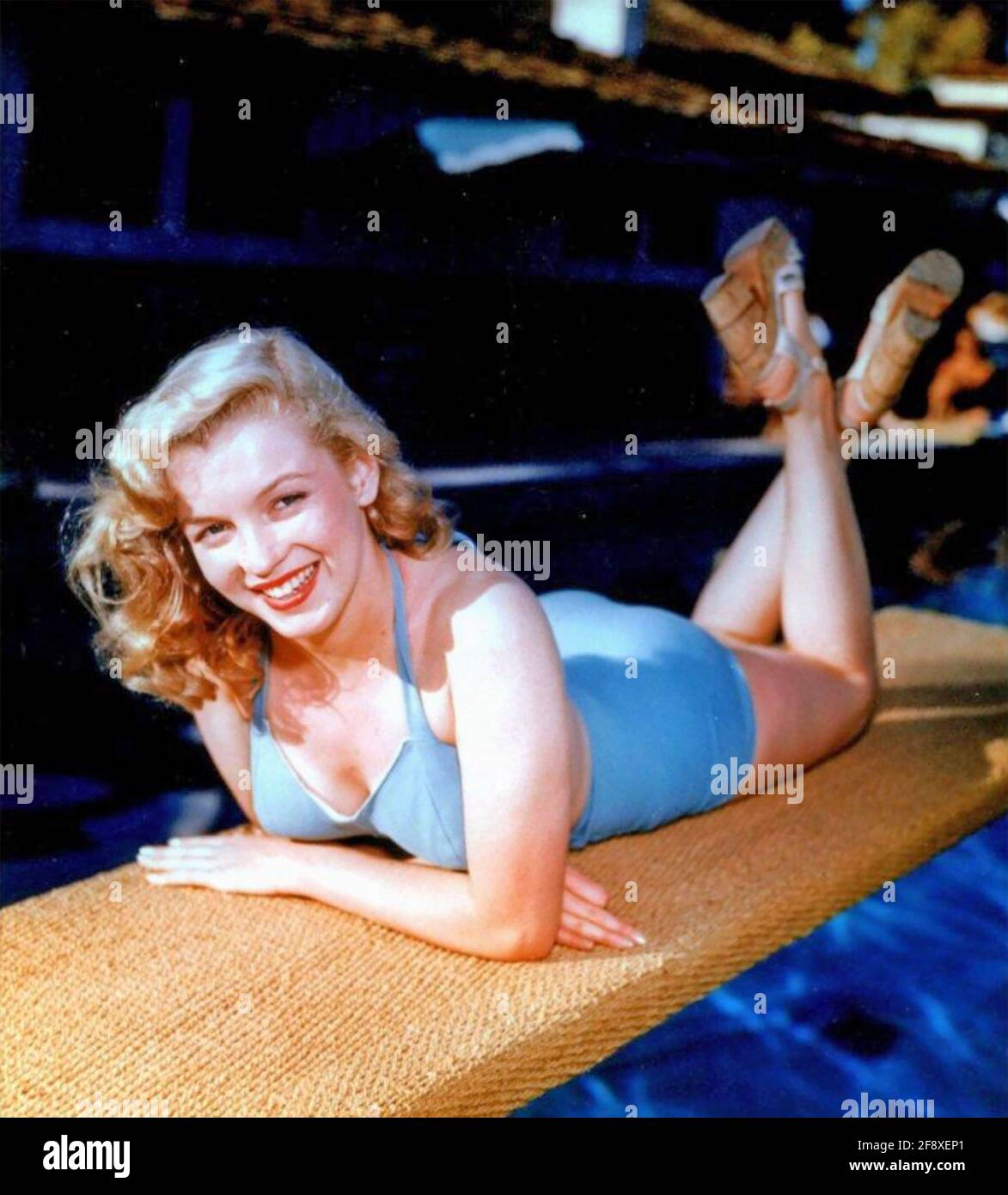 MARILYN MONROE (1926-1962) attrice cinematografica americana circa 1945 Foto Stock