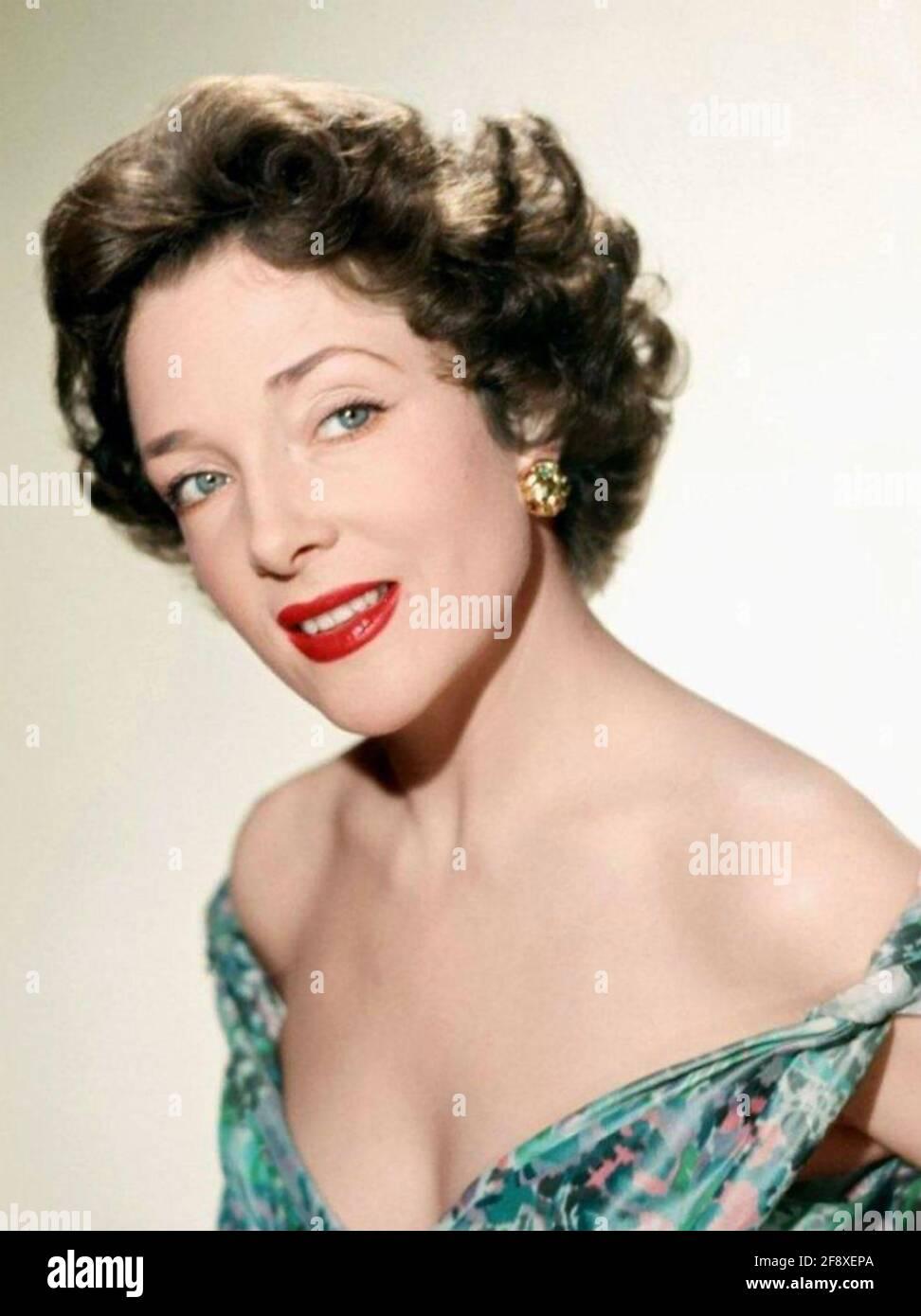 MICHELINE PRESLE attrice cinematografica francese circa 1948 Foto Stock