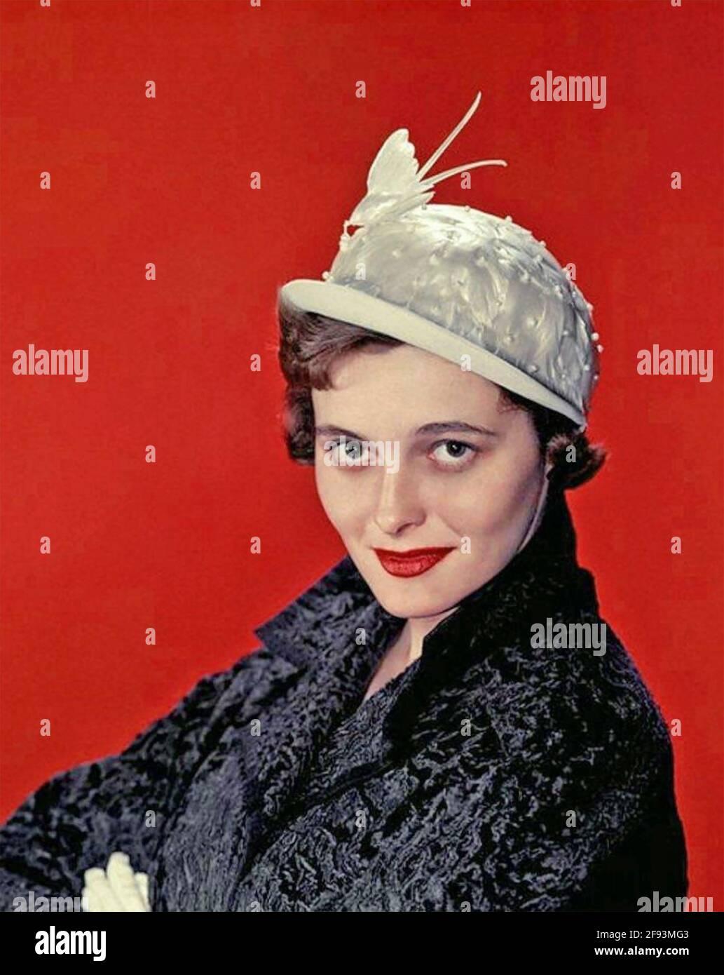 PATRICIA NEAL (1926-2010) scenografia americana e attrice cinematografica circa 1950 Foto Stock
