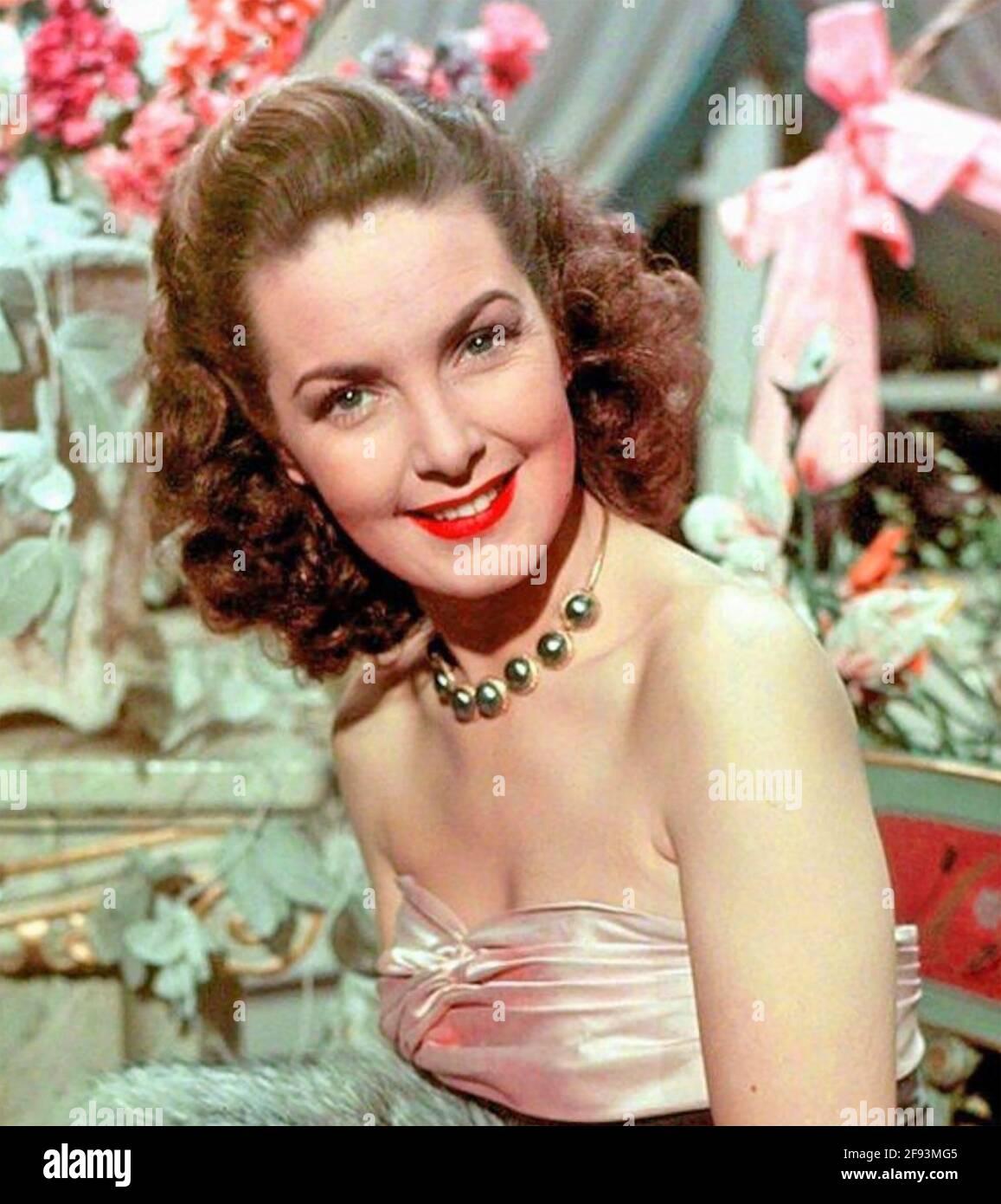 PATRICIA ROC (1915-2003) attrice cinematografica inglese circa 1945 Foto Stock