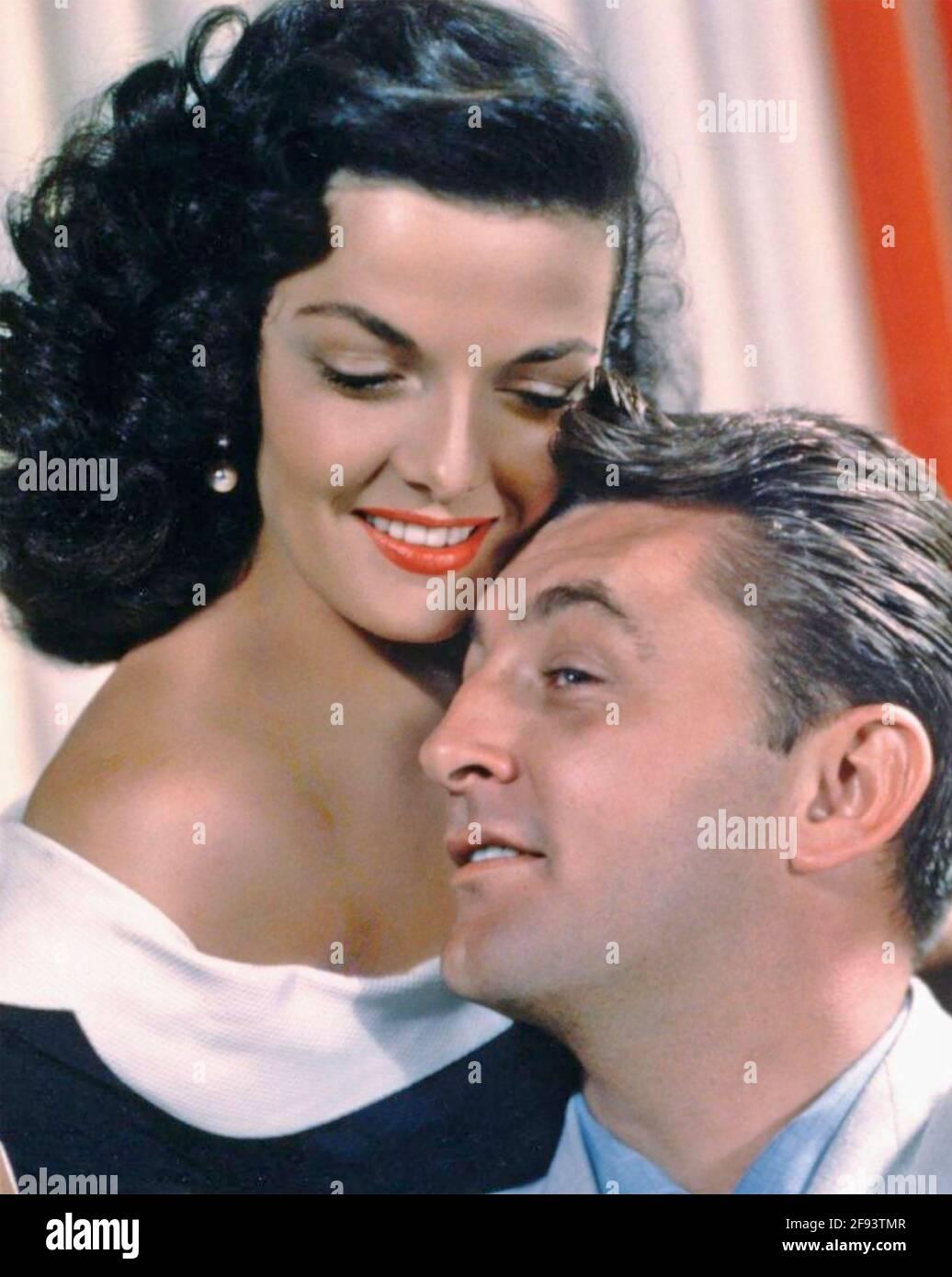 IL SUO GENERE DI DONNA 1951 RKO radio Pictures film con Jane Russell e Robert Mitchum Foto Stock