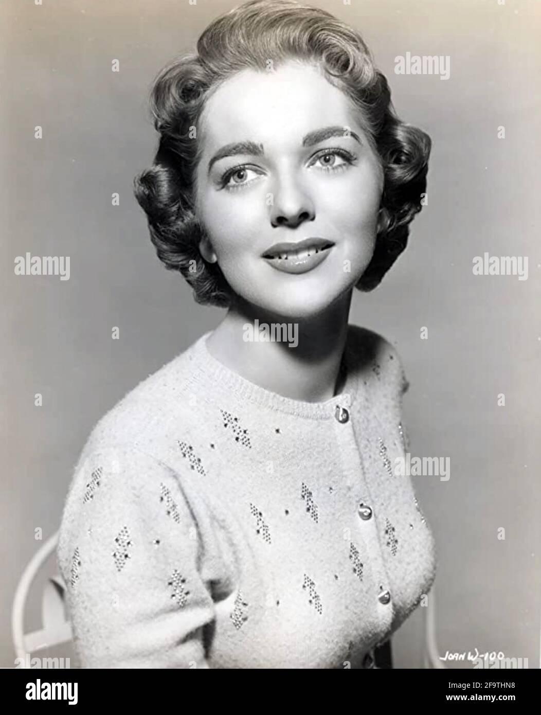 JOAN WELDON (1930-2021) attrice cinematografica americana nel 1954 Foto Stock