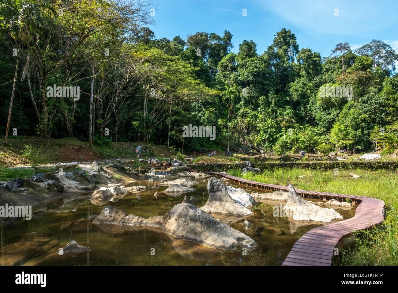 Abba Paradise, Taiton, Bau, Sarawak, Malesia orientale Foto Stock