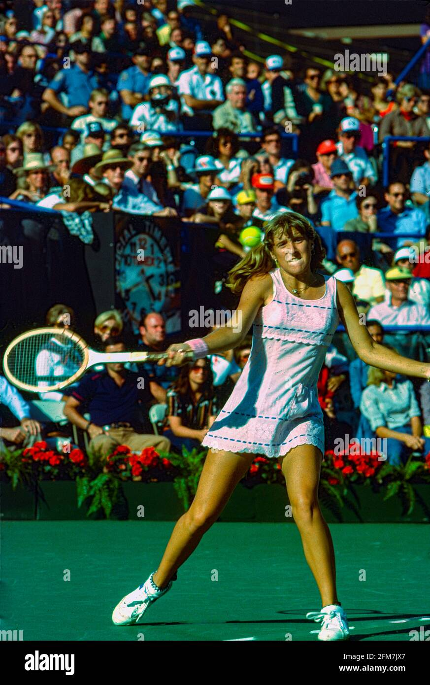 Tracy Austin (USA) vince i Campionati di tennis aperti degli Stati Uniti del 1979 Foto Stock