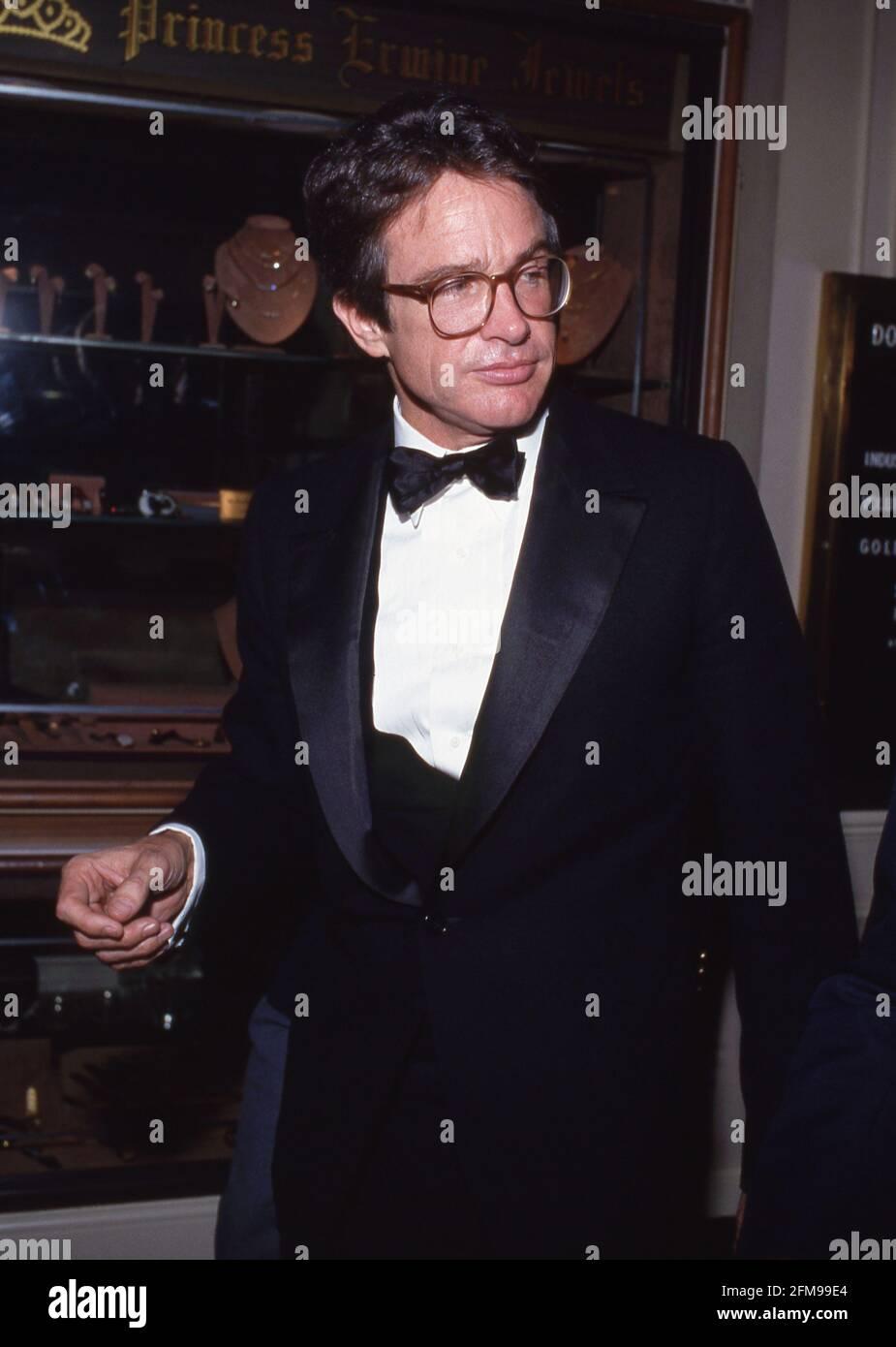 Warren Beatty Circa 1980's Credit: Ralph Dominguez/MediaPunch Foto Stock