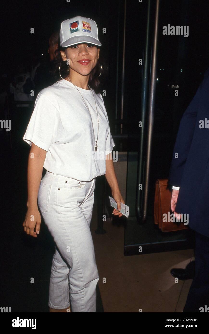 Rosie Perez Circa 1980's Credit: Ralph Dominguez/MediaPunch Foto Stock
