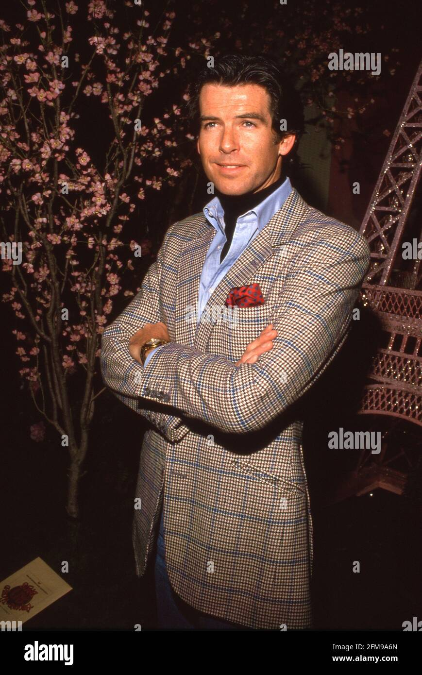 Pierce Brosnan Circa 1980's Credit: Ralph Dominguez/MediaPunch Foto Stock