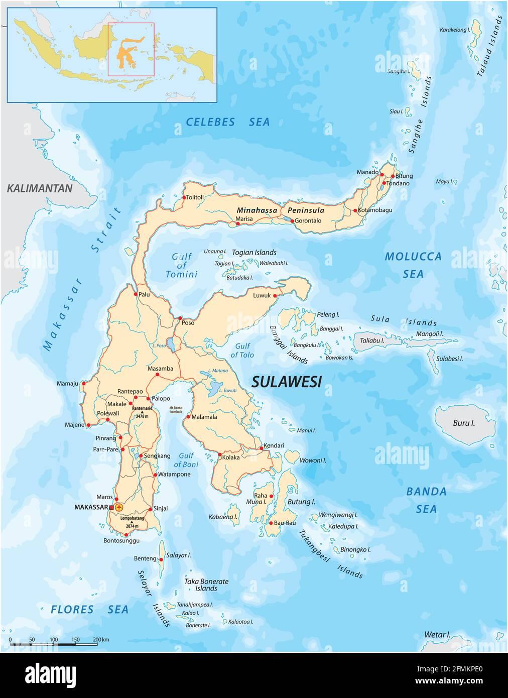 Cartina Indonesia Dettagliata.Indonesia Vector Vectors Immagini E Fotos Stock Alamy
