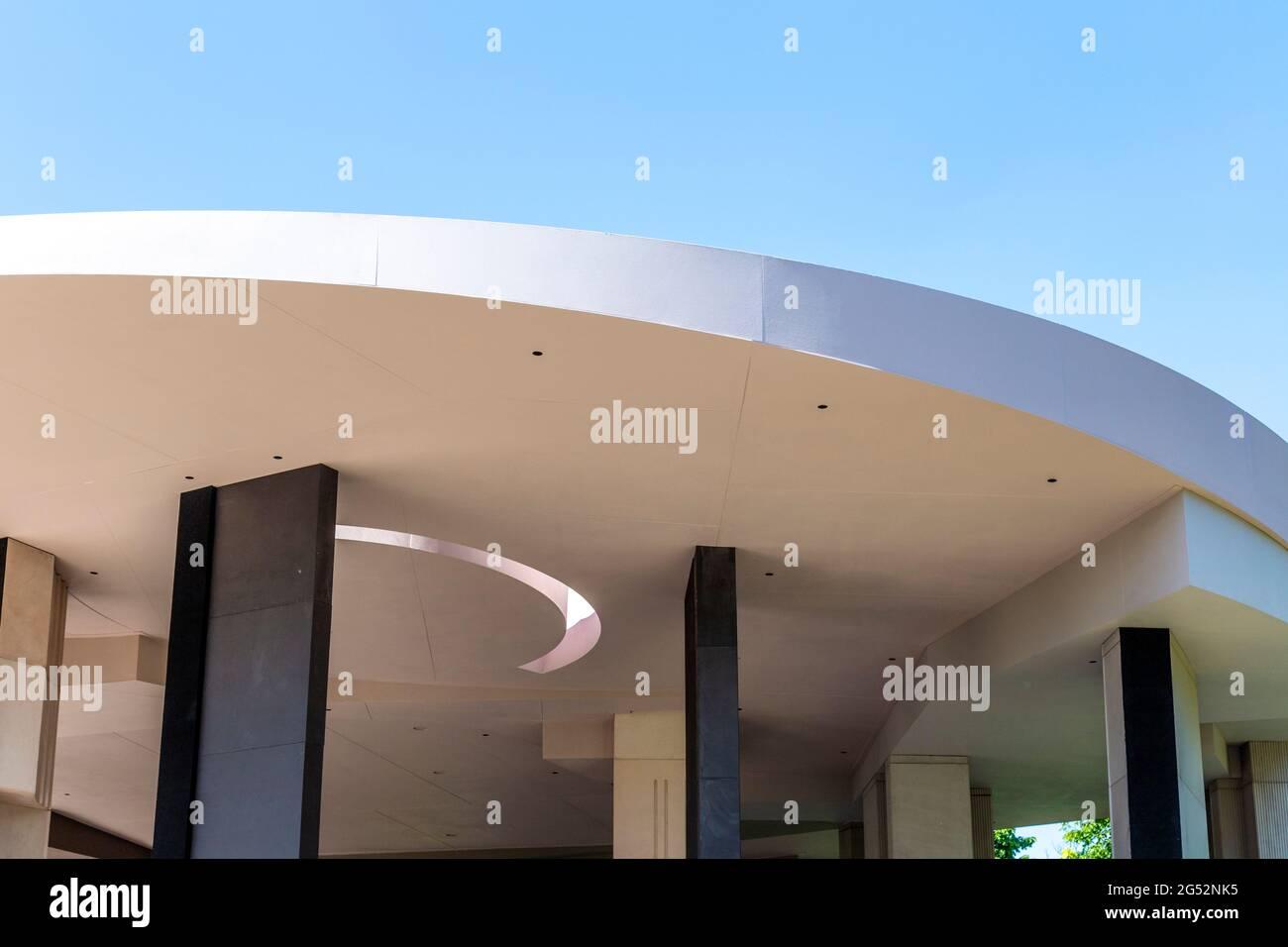 2012 Serpentine Pavilion progettato da Counterspace presso la Serpentine Gallery, Hyde Park, Londra, Regno Unito Foto Stock