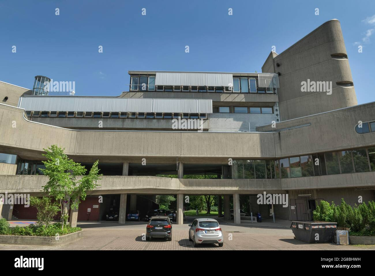 Charite, Institut für Hygiene und Umweltmedizin, Hindenburgdamm, Lichterfelde, Berlin, Deutschland Foto Stock