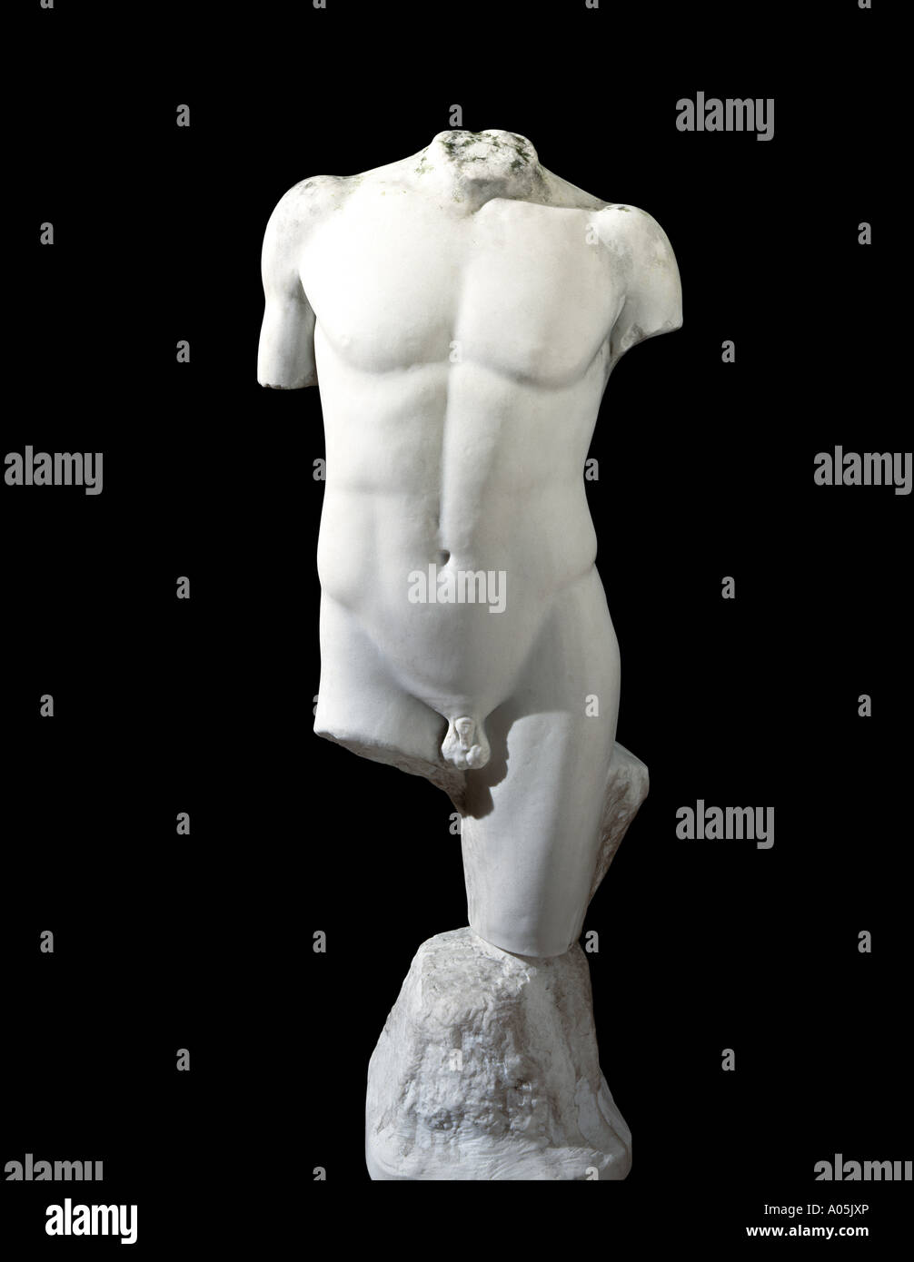 Una classica statua in marmo Immagini Stock