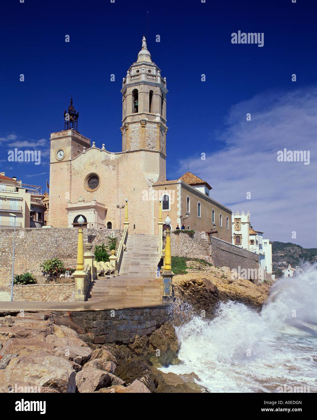 Sitges Catalogna Spagna Immagini Stock