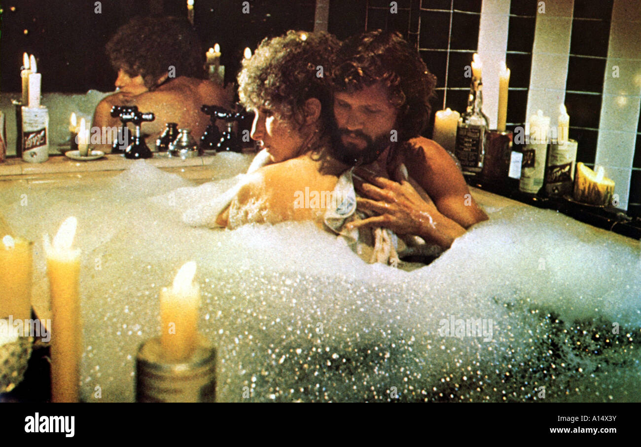È nata una stella 1976 Frank Pierson Barbra Streisand Kris Kristofferson  Foto stock - Alamy